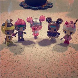 Tokidoki Donutella & her sweet friends 1 & 2 lot